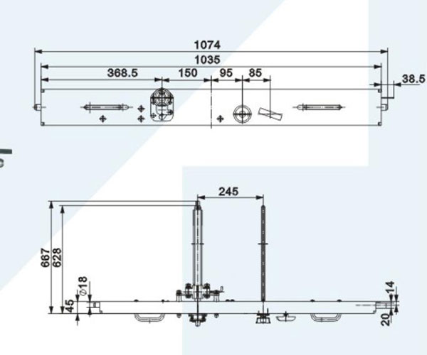Racking Mechanism Power Distribution Solution Tellhow